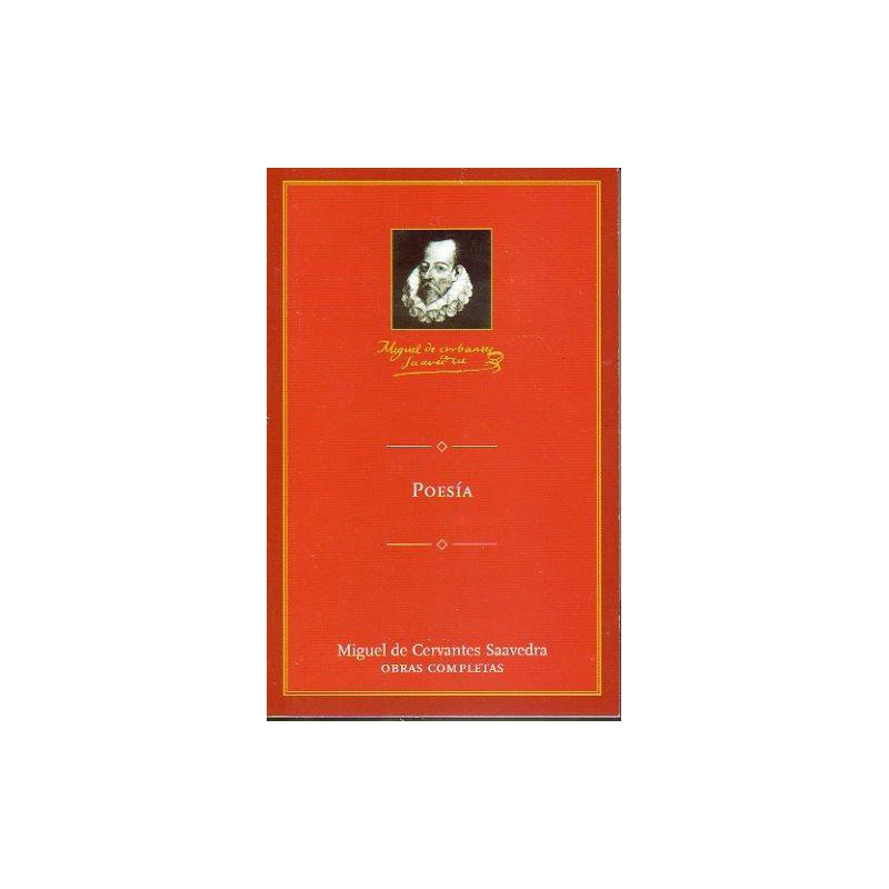 Poesía De Miguel De Cervantes Saavedra 9788495349385 www.todoalmejorprecio.es
