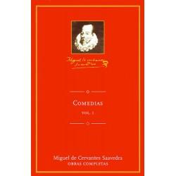 Comedias I De Miguel De Cervantes Saavedra 9788495349323 www.todoalmejorprecio.es