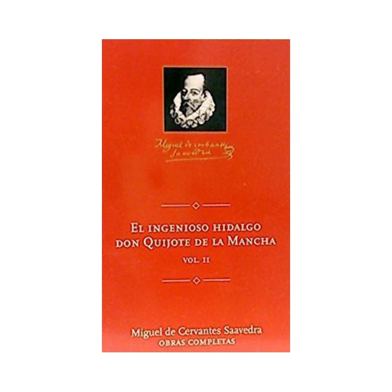 El Ingenioso Hidalgo Don Quijote De La Mancha 2 De Miguel De Cervantes Saavedra 9788495349200 www.todoalmejorprecio.es