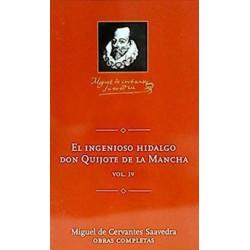El Ingenioso Hidalgo Don Quijote De La Mancha 4 De Miguel De Cervantes Saavedra 9788495349224