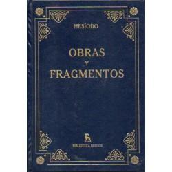 Obras Y Fragmentos De Hesíodo 9788447345427 www.todoalmejorprecio.es