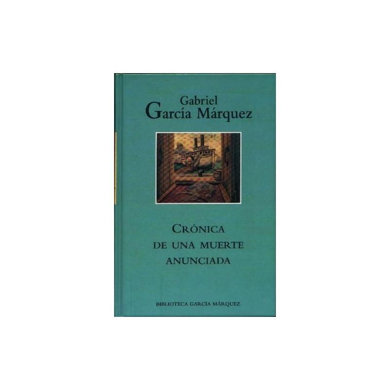 Crónica De Una Muerte Anunciada Gabriel García Márquez www.todoalmejorprecio.es
