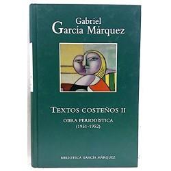 Textos Costeños II 1951-1952 De Gabriel García Márquez www.todoalmejorprecio.es