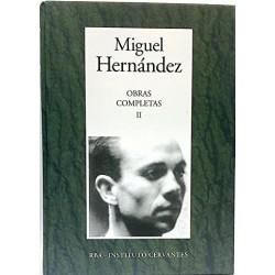 Obras Completas II [Tapadura] Hernández, Miguel [Jul 18, 2006] - 8447348296