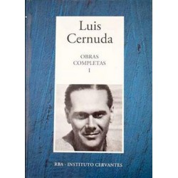 Obras Completas I [Tapadura] Cernuda, Luis [Feb 14, 2006] - 8447346870