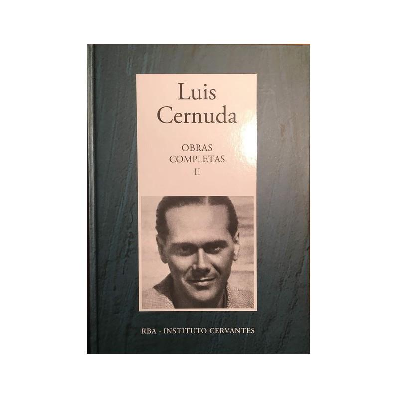 Obras Completas II [Tapadura] Cernuda, Luis [Oct 10, 2006] - 8447349292
