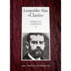 Narrativa Completa II [Tapadura] Alas, Leopoldo [Dec 19, 2006] - 8447349357