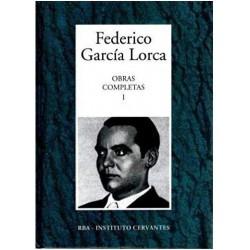 Obras Completas I [Tapadura] García Lorca, Federico [Nov 08, 2005] - 8447341623
