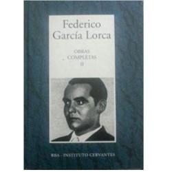 Obras Completas II [Tapadura] García Lorca, Federico [Apr 25, 2006] - 8447348237
