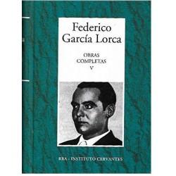 Obras Completas V [Tapadura] García Lorca, Federico [Jan 30, 2007] - 9788447350988