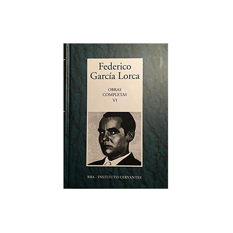Obras Completas VI [Tapadura] García Lorca, Federico [Apr 10, 2007] - 8447352870