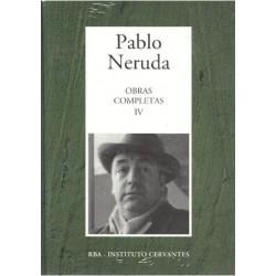 Obras Completas IV [Tapadura] Neruda, Pablo [Sep 12, 2006] - 8447349276