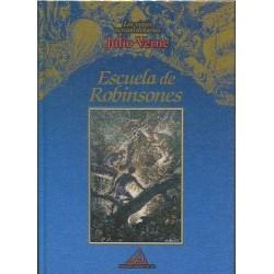 Los Viajes Extraordinarios De Julio Verne: Escuela De Robinsones: Vol.(8)  - 8484470075