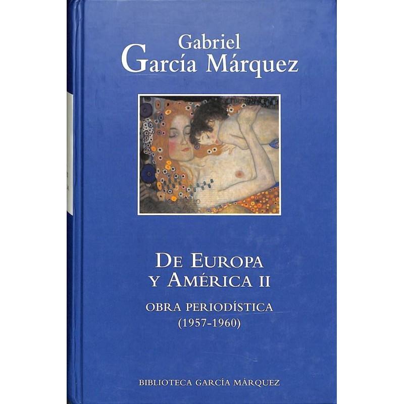 De Europa Y América II De Gabriel García Márquez 9788447334049 www.todoalmejorprecio.es